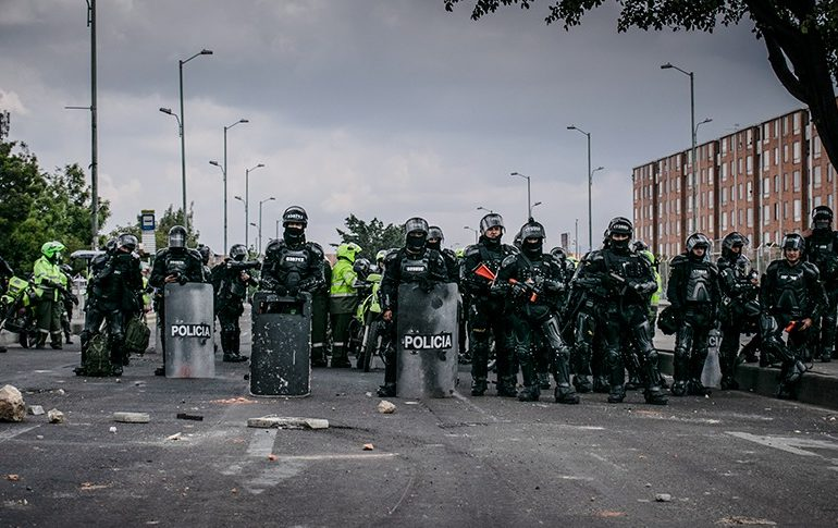 After death of protestor, Colombians call for dismantling of riot control unit