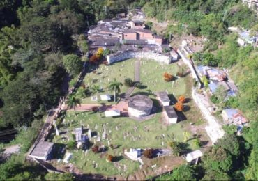The cemetery where 50 victims of extrajudicial killings were found