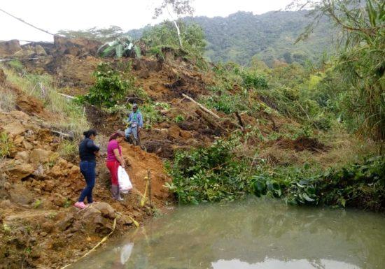 No solo es el derrumbe de un barranco en Calarcá