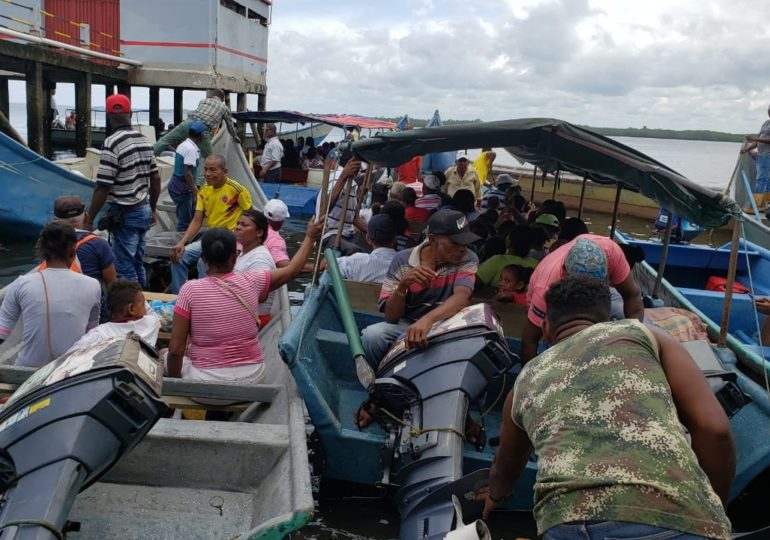 Comunidades del Río Chagüi se preparan para regresar a su hogar