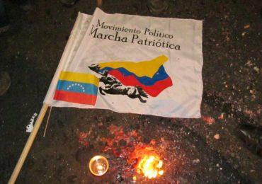 Más de 200 integrantes de Marcha Patriótica han sido asesinados entre 2011 y 2020