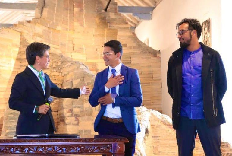 Bogotá se compromete con la memoria para la paz