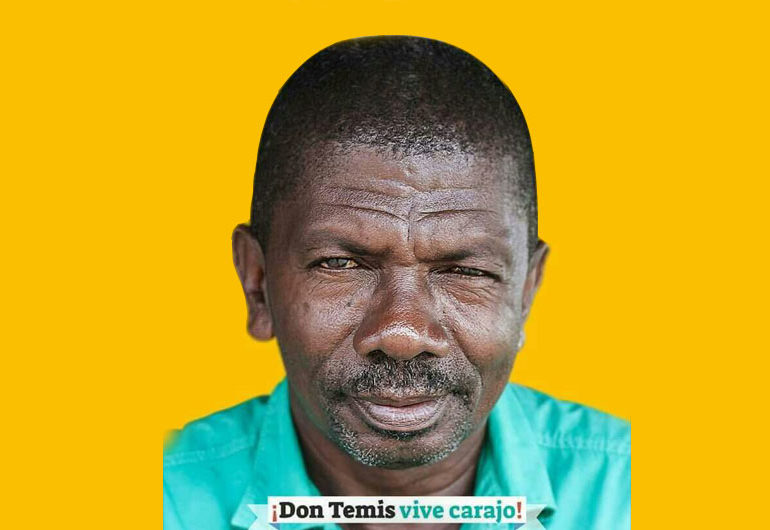 Las enseñanzas de 'don Temis' son símbolo de resistencia en el barrio Isla de la Paz