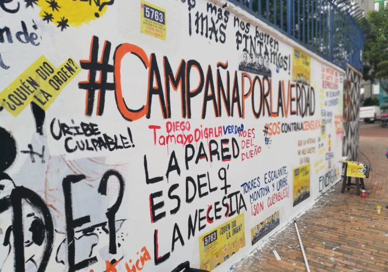 Mural ¿quién dió la órden? le pertenece a la gente: MOVICE