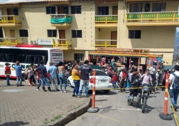 Desplazamiento Forzado acabó con el ETCR Santa Lucía