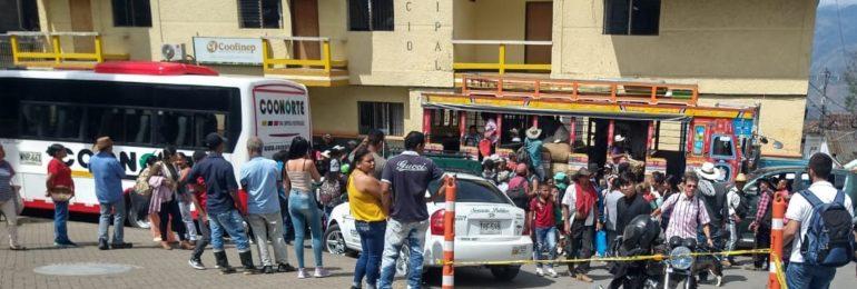 La tragedia continua en Ituango. Dos asesinatos, un atentado  y un paro armado.
