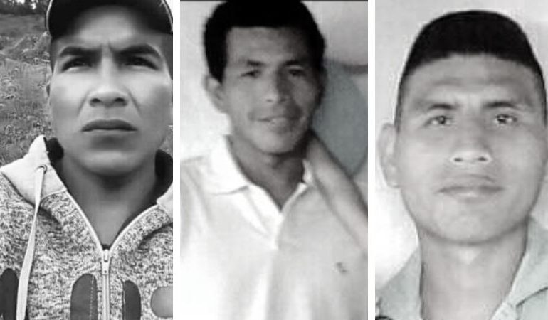 Asesinan a tres integrantes de guardias campesina e indígena durante fin de semana en Cauca