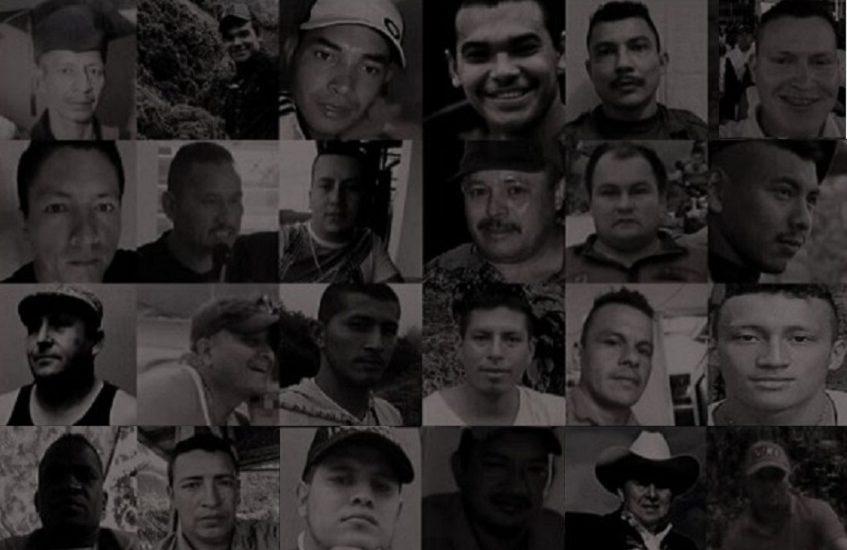 Un cacerolazo para amplificar la voz de casi 200 excombatientes asesinados