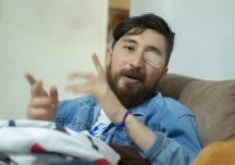 Cristian Rodríguez perdió un ojo por el ESMAD, pero no la fuerza para luchar