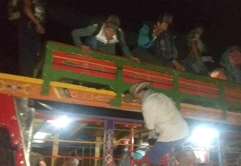Familias de Ituango retornan  a sus veredas sin garantías