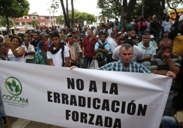 Ejercito y narcotráfico: verdugos de la sustitución de la Coca