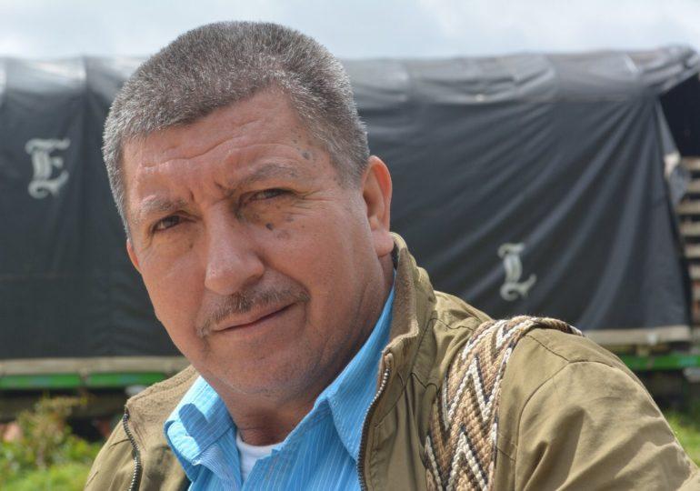 Marco Rivadeneira, líder campesino y defensor de DD.HH. asesinado en Putumayo