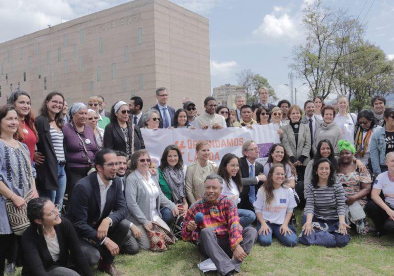 Unión Europea reafirma su apoyo a los liderazgos en Colombia