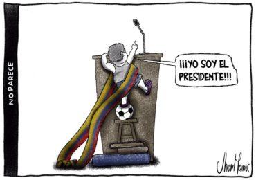"""""""La caricatura aterriza al político cuando cree ser intocable"""""""