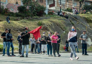 El hambre de las familias en Bogotá no se soluciona con Policía