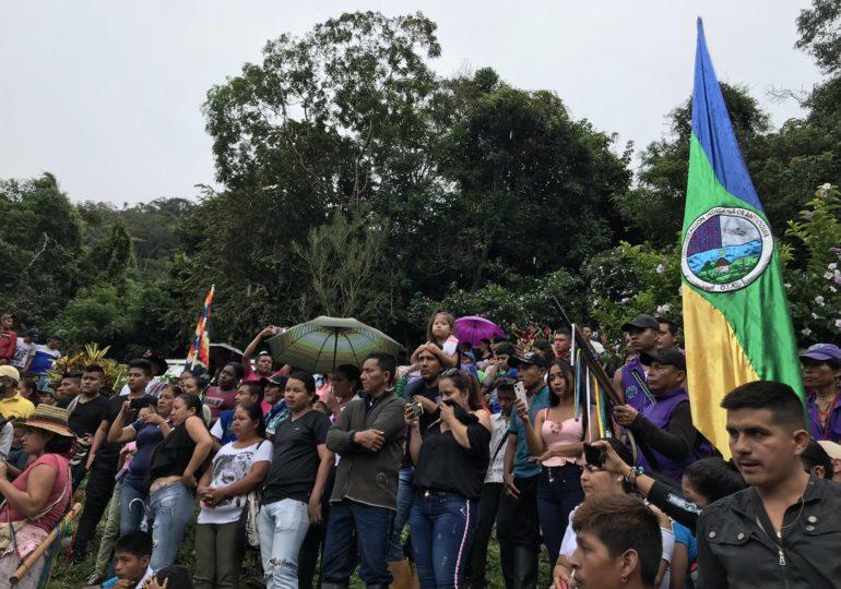 Más de 2.500 indígenas de Antioquia en riesgo de desplazamiento