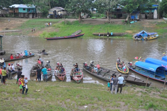 Indígenas en Putumayo