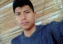 Cristian Conda, indígena de 21 años fue asesinado en Caloto, Cauca