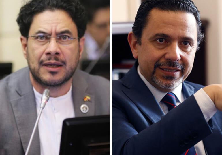 """Miguel Ceballos no le cumple a la paz sino que """"promueve el conflicto armado"""": Cepeda"""
