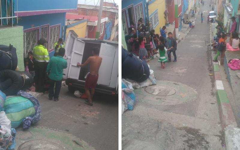 Emberas llegan a Ciudad Bolívar