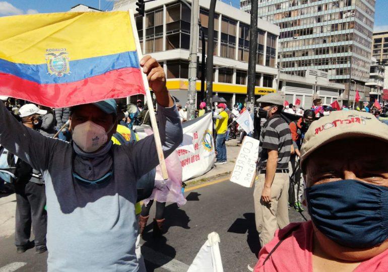 Ecuador de nuevo en las calles contra imposiciones de Lenin Moreno