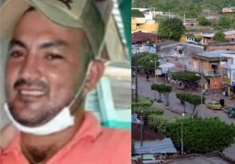 Carlos Sánchez líder comunal es asesinado en Tibú, Norte de Santander