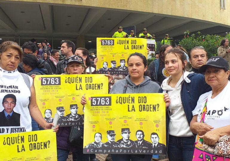 """""""El Senado nos dio la espalda"""" expresaron las Madres de Soacha"""