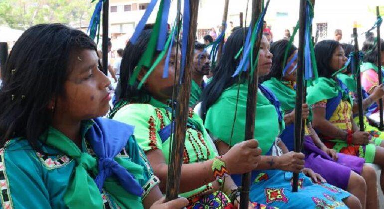 Resistencia de comunidades indígenas durante conflicto armado