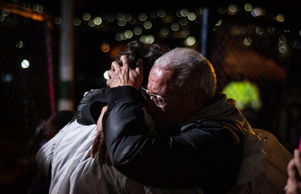 Reencuentro con la familia luego de pasar cerca de 3 años en la cárcel - Javier Jimenez Rojas