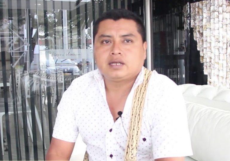 """""""En medio del miedo la comunidad indígena en vez de retroceder se ha reforzado"""", Milton Conda"""