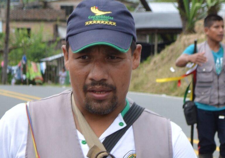 Rodrigo Salazar, reconocido líder del Pueblo Awá fue asesinado en Llorente