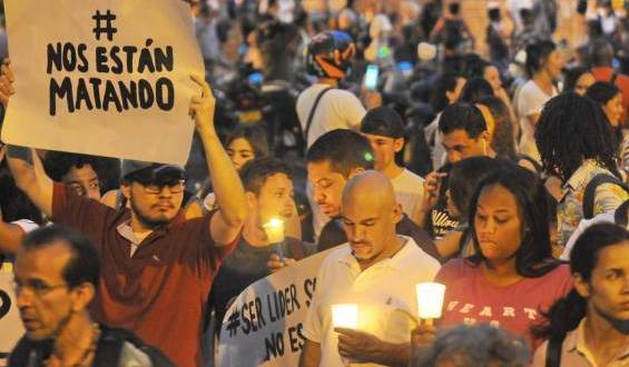 Siguen los asesinatos contra líderes y excombatientes en medio de la pandemia