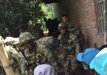 8 heridos en el corregimiento de Mondomo luego de intervención de la Fuerza Pública