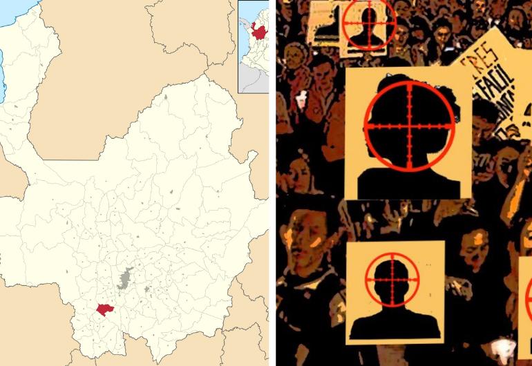 Cuatro masacres en 48 horas, 3 jóvenes son asesinados en Venecia, Antioquia