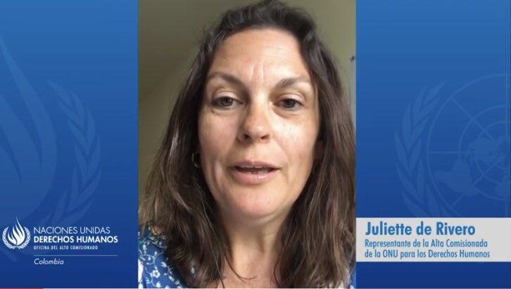 Los retos de Juliette de Rivero según defensores de DDHH