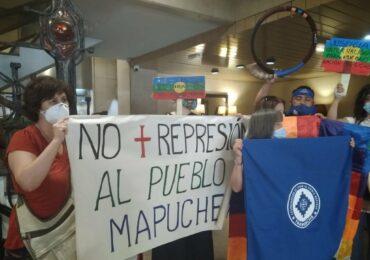 """""""Para mí será un orgullo dar la vida por mi pueblo mapuche"""" Celestino Córdova"""