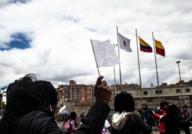 Si protestar es un delito nos entregamos a la Fiscalía: líderes y activistas políticos