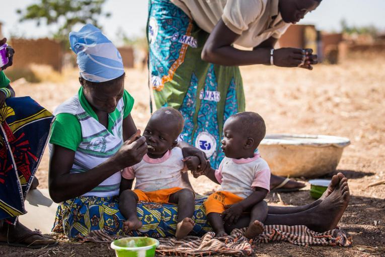 Más de 67,000 niños podrían morir de hambre en África.