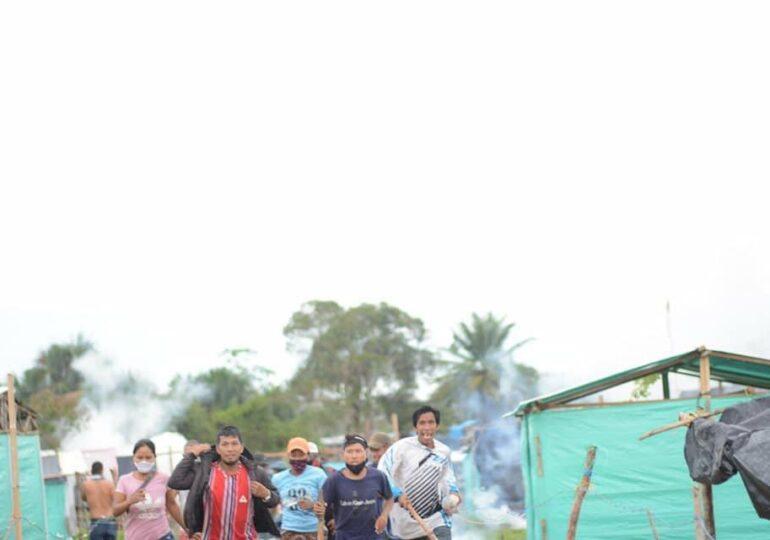 Dos personas fueron asesinadas en medio de desalojo del ESMAD a familias indígenas en Leticia, Amazonas
