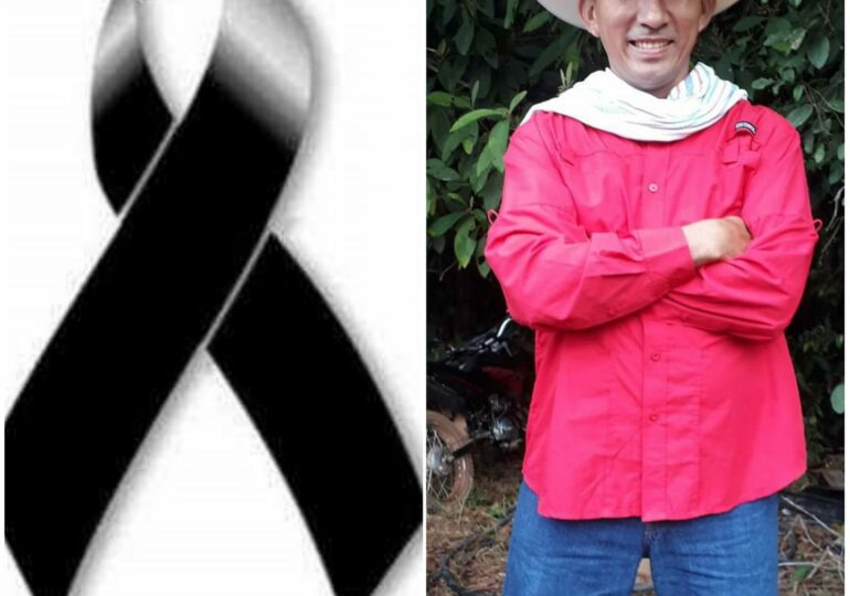 Asesinado Juan de Jesús Monroy reconocido lider de reincorporación de FARC