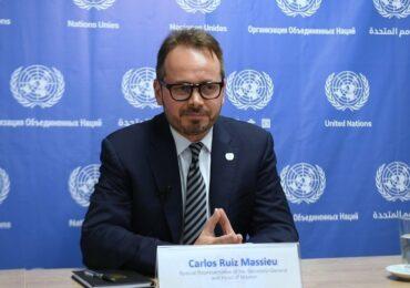 """""""Pese a que se ha avanzado, aún queda un largo camino de compromiso con la paz"""": Massieu"""