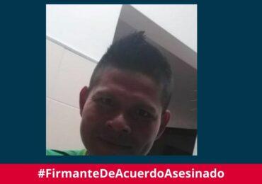 Uriel Valencia, excombatiente de Farc es asesinado en Quibdó