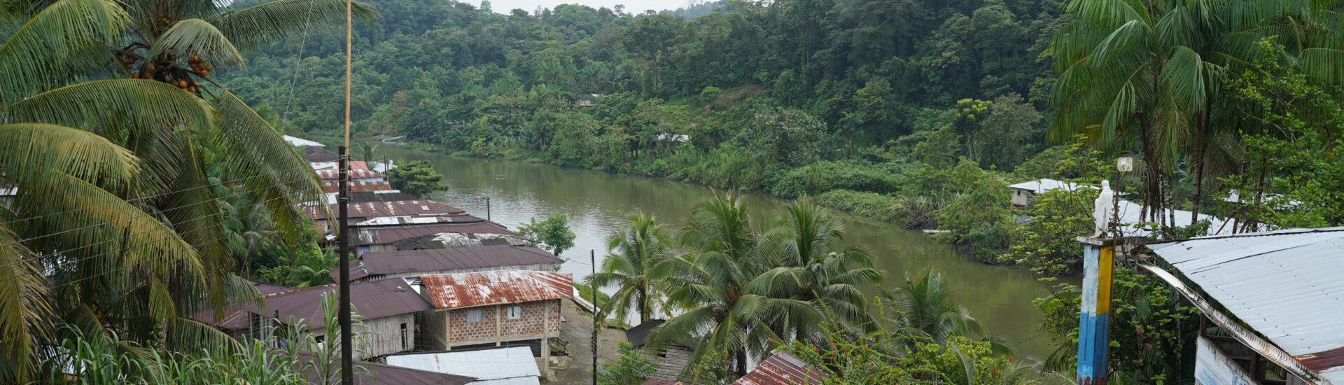 Ruta de autoprotección colectiva del consejo comunitario Guajuí, Guapi