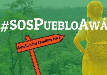 El Pueblo Awá lanza un S.O.S contra la guerra en Nariño