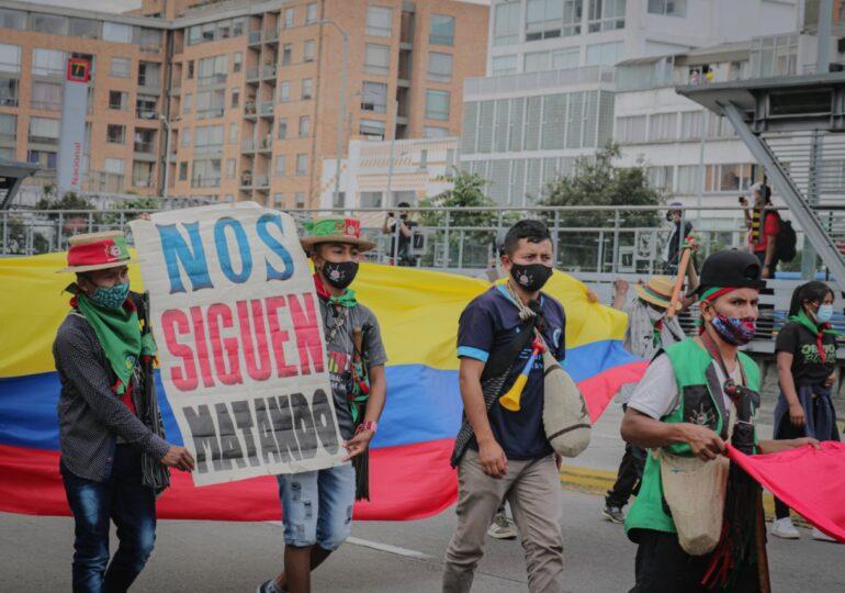 La crisis social en Colombia acentuada por la pandemia
