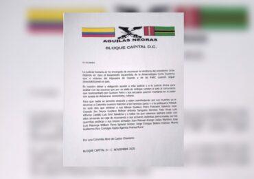 Águilas Negras amenazan a Contagio Radio y a periodistas de medios de comunicación