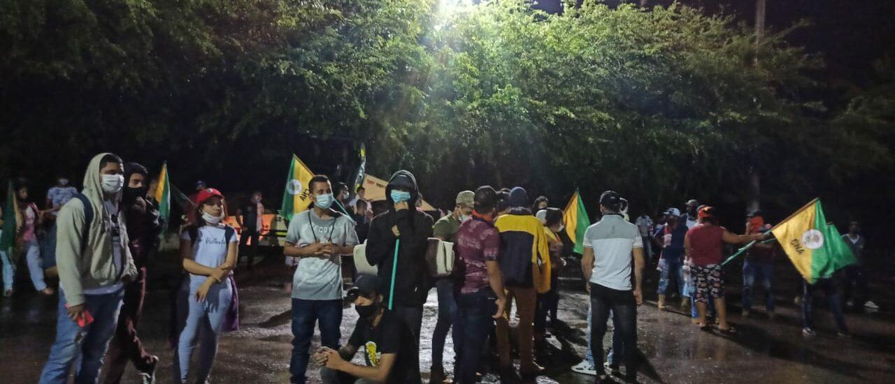 Comunidades se movilizaron contra la venta de Ecopetrol en Cantagallo, Bolívar