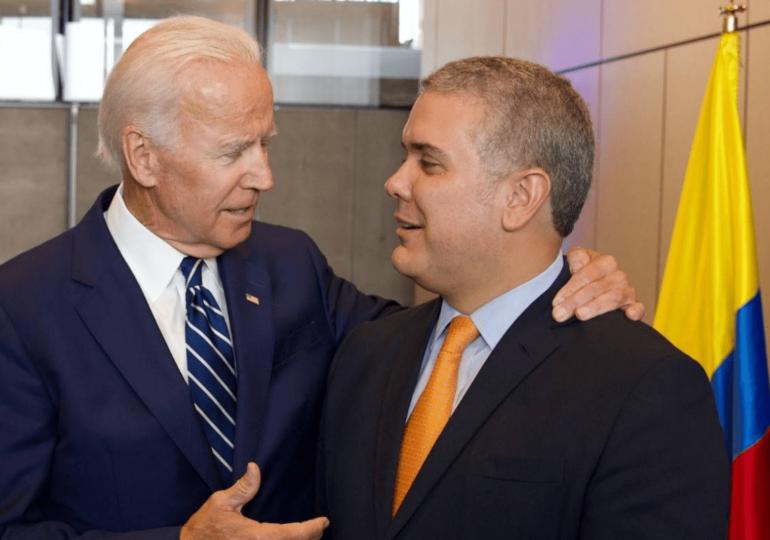WOLA afirma que con Biden el gobierno de Duque va a estar más expuesto