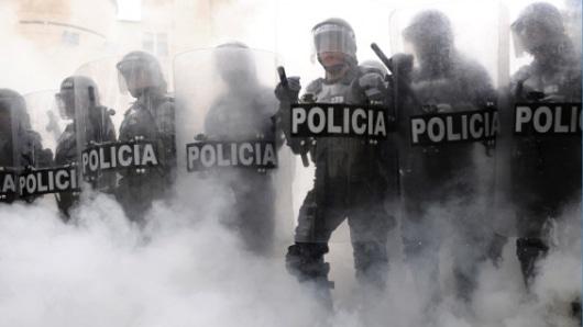 5 capturados, 4 heridos y múltiples lesionados en  represión a la jornada contra la brutalidad policial