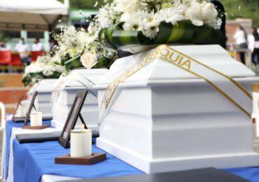 JEP hace entrega de restos de personas desaparecidas en Dabeiba